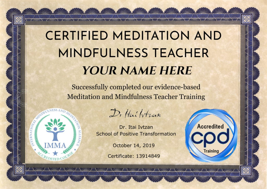 The 5 Best Online Meditation Teacher Training Certifications Mind Is The Master